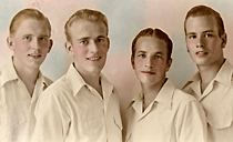 Image of men's music group